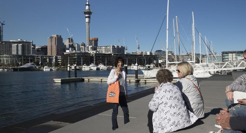 port tiqy, Auckland Waterfront Sights and Bites Tour