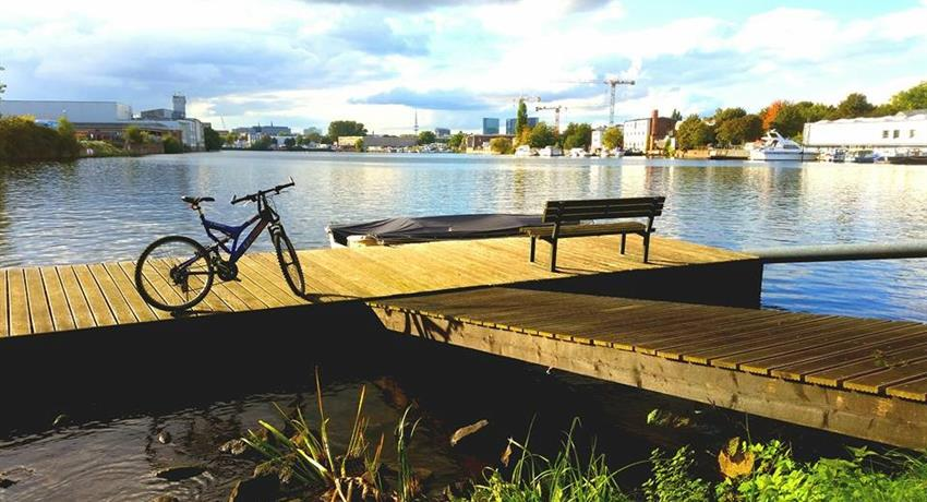Sunset - tiqy, Tour en Bicicleta Aussenalster