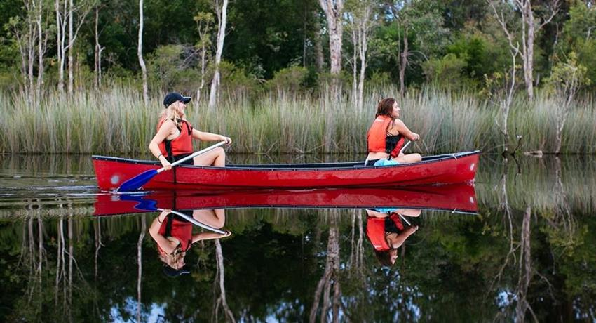 canoe tiqy, Bar-B-Canoe Tour