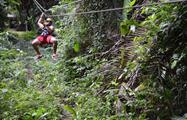 zipline aerial trek, Belize Cave Tubing and Zipline Tour from Belize City