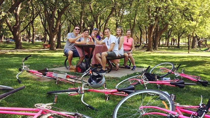 At the Park, Más Allá de los Carriles de Bicicleta