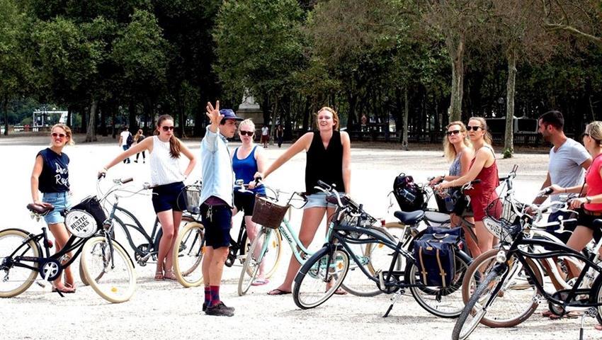 park, Bike Tour of Bordeaux