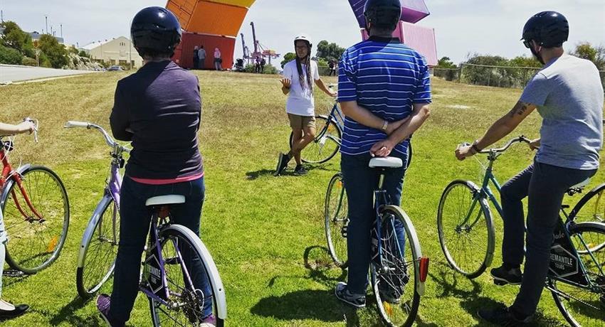 bike tiqy, Bike City Tour in Fremantle