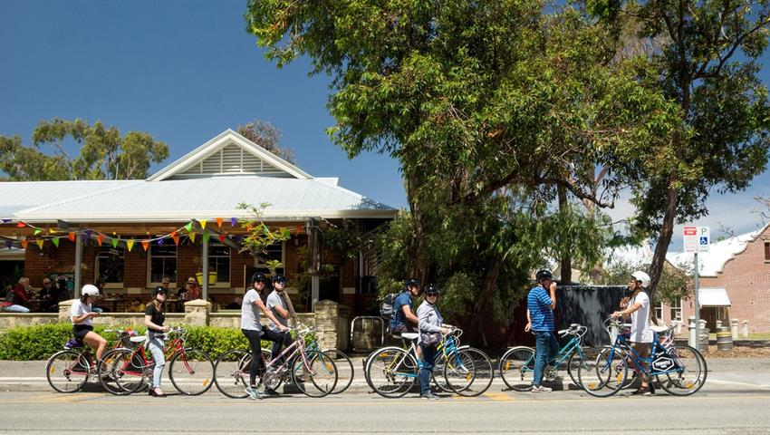 bike tiqy, Bike City Tour in Fremantle