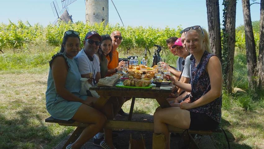 picnic, Bike Electric Saint Emilion