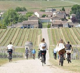 Bike Electric Saint Emilion, Wine Tours in Bordeaux, France