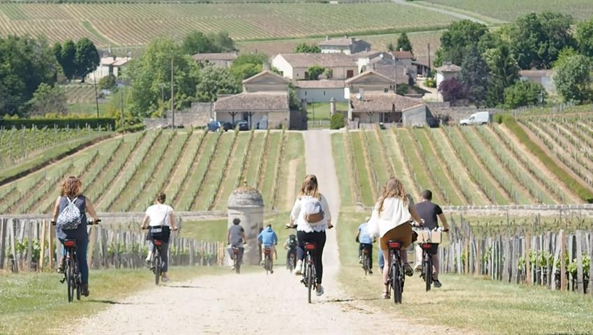 main, Bike Electric Saint Emilion
