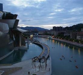 Bilbao in Canoe