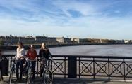 Bordeaux Bike Tour bike bridge, Bordeaux Bike Tour