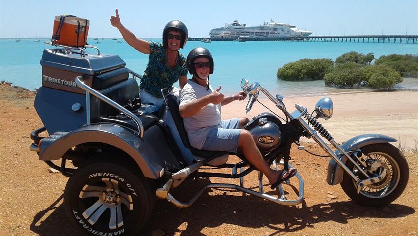 Broome Town Tour couple, Broome Town Tour
