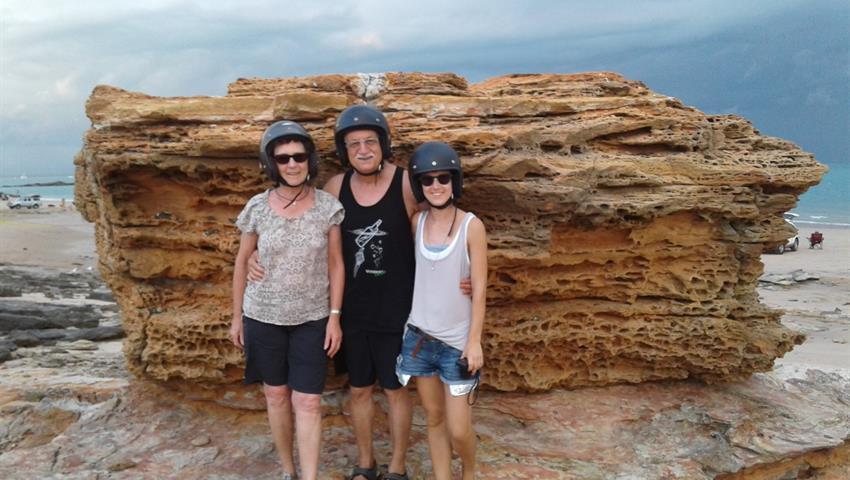Broome Town Tour family, Broome Town Tour