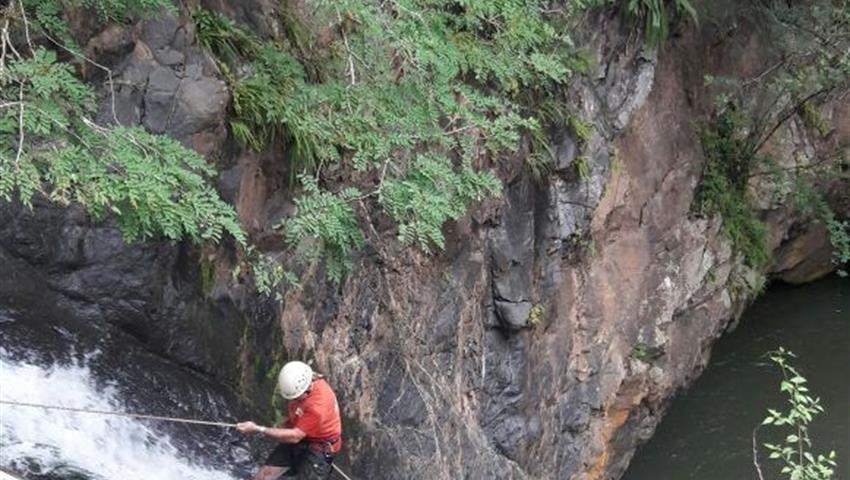 1, Canajagua Waterfall Rappel Tour