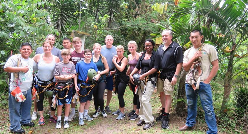 Canopy family Panama, Canopy Tour in Anton Valley from Beach Hotels