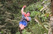Man Canopy Eco tourism Panama, Canopy Tour in Anton Valley From Panama City
