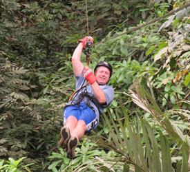 Canopy Tour in Anton Valley From Panama City