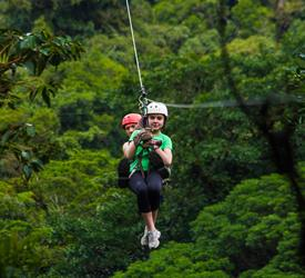 13 Lines Canopy Tour, Canopy Tours  in Costa Rica