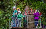 canopy tour instruction, 13 Lines Canopy Tour