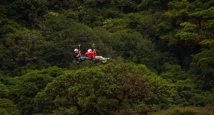 canopy tour experience, 13 Lines Canopy Tour