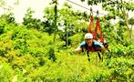 Superman slide canopy, Jungle Experience with Canopy Tour