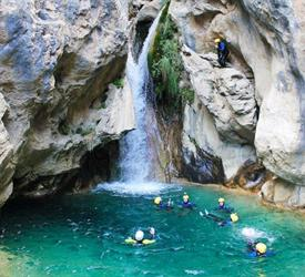 Canyoning Adventure in Rio Verde, Adventure Tours in Spain