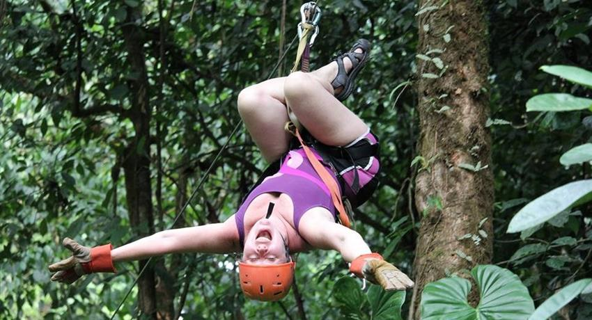 2, Canyoning and Rappelling Adventure Tour