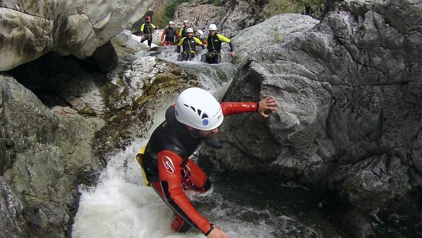 Canyoning Guadalmina  - Tiqy, Canyoning Guadalmina