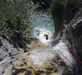 Canyoning in Majales Stream, Adventure Tours in Spain