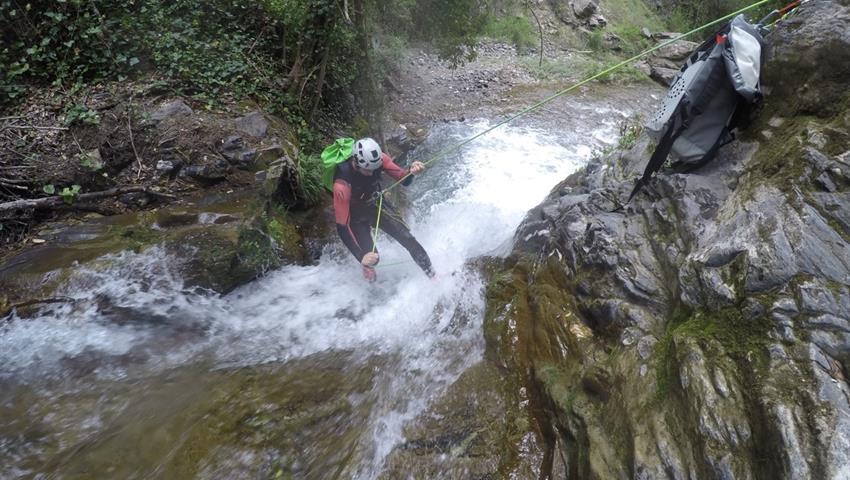 Canyoning Sima del Diablo  - tiqy, Canyoning Sima del Diablo