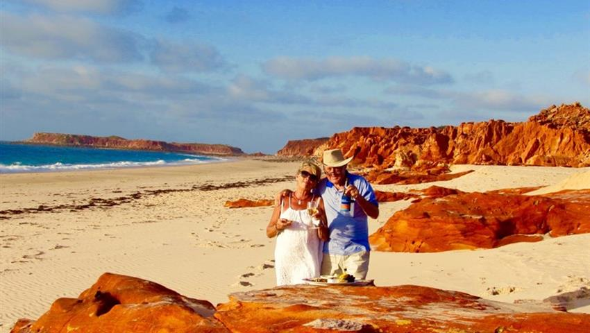 Cape Leveque red rocks, Cabo Leveque