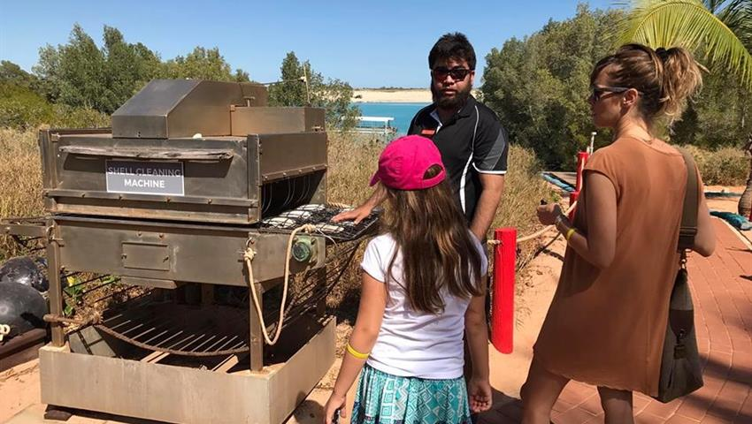 Cape Leveque shell machine, Cabo Leveque