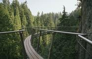 Capilano Adventures, Puente colgante de Capilano y Grouse Mountain