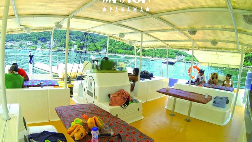 3, Catamarán Todo Incluido a Taboga - Almuerzo