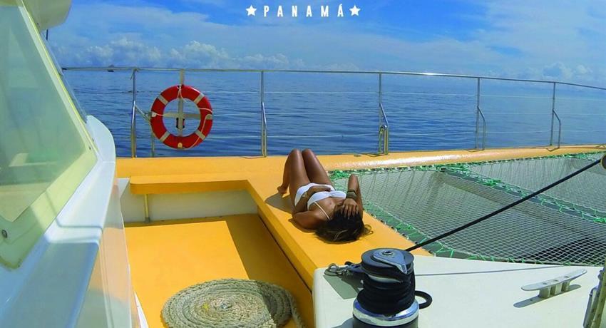 5, Catamaran All Inclusive to Taboga - Lunch