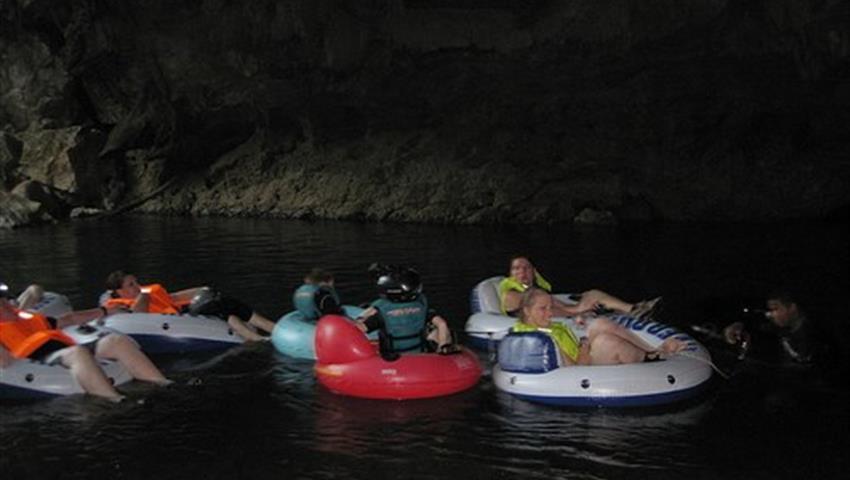 1, Belize Cave Tubing Tour