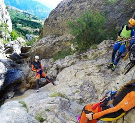 Canyoning Adventure in the Pyrenees from Barcelona