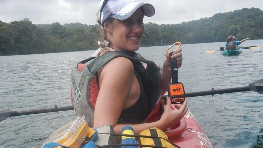 kayak in chagres - tiqy, Chagres River Kayak Expedition