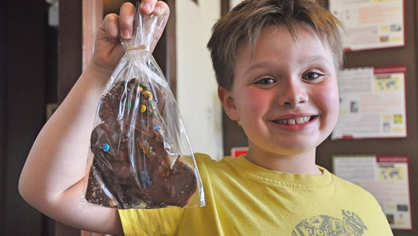You can keep the chocolate, Chocolate Fun Workshop