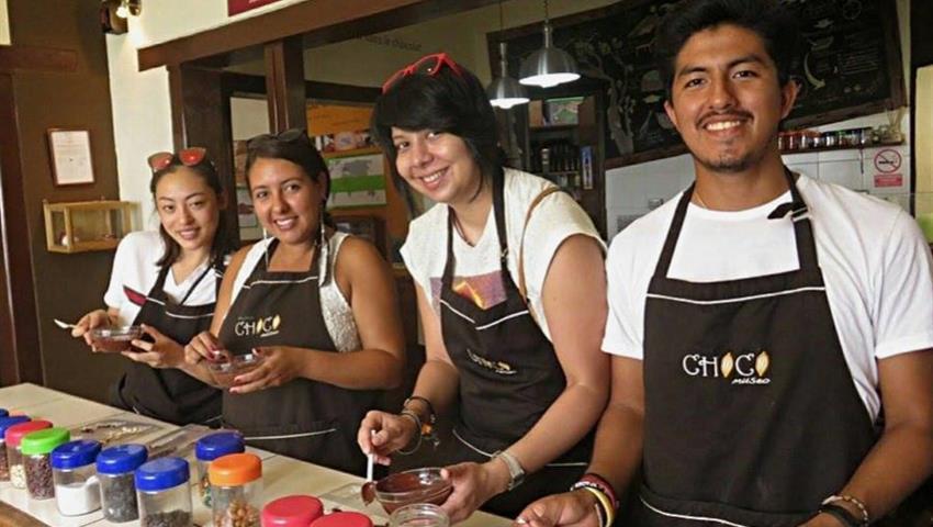 roast and winnow, Chocolate Fun Workshop