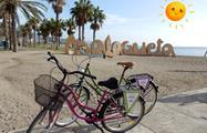 City Bike tour playa malagueta malaga, City Bike Tour in Malaga