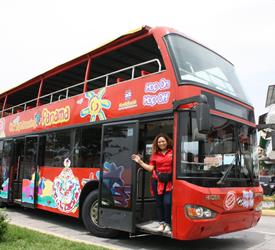 Tour en autobús turístico en la ciudad de Panamá