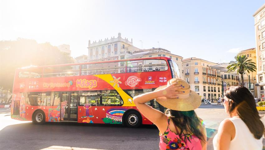 Hop on hop off Sightseeing Malaga, City Sightseeing Tour in Malaga