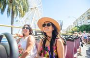 Hop on hop off Sightseeing Enyoing Tour, City Sightseeing Tour in Malaga