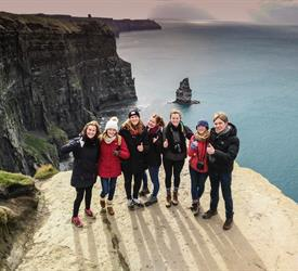 Cliffs of Moher, Wild Atlantic Edge Walk and Lahinch Surfing