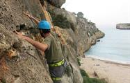Rock Climbing coast view, Rock Climbing Extreme Adventure