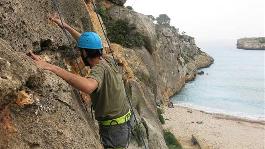 Rock Climbing coast view, Rock Climbing Extreme Adventure