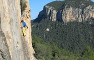 Rock Climbing man and view, Rock Climbing Extreme Adventure