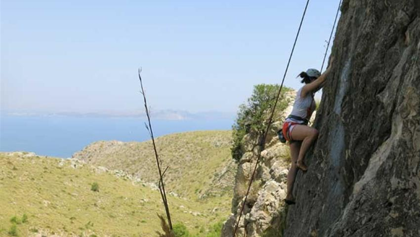 Rock Climbing woman, Rock Climbing Extreme Adventure