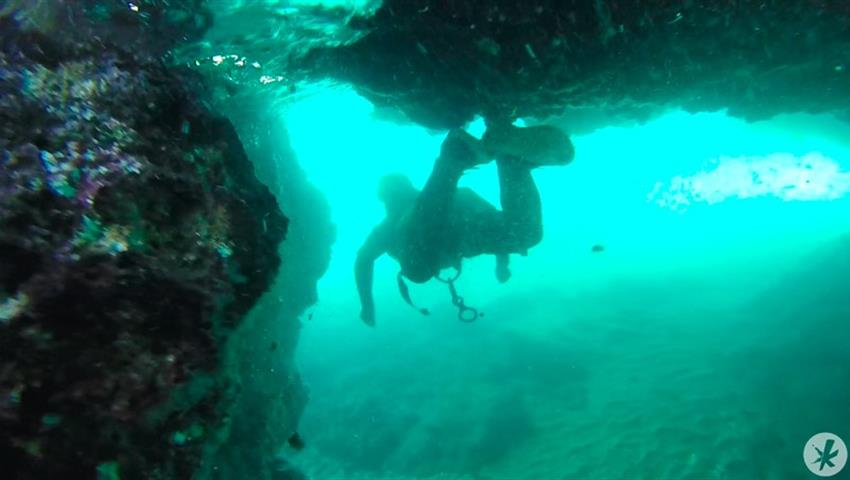 diving while admiring marine life - tiqy, Coasteering in Nerja – Malaga