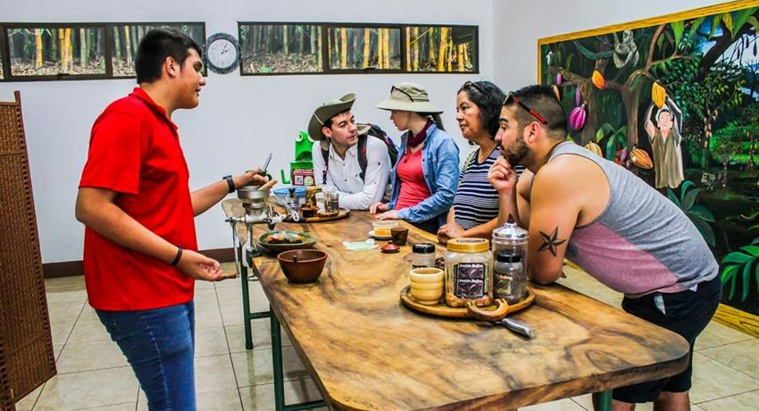 process, Coffee, Chocolate and Sugar Cane Tour