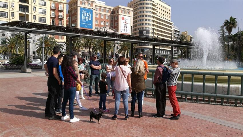 Plaza la Marina, Complete Tour Malaga